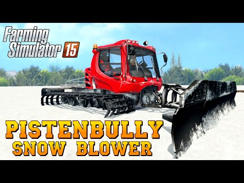 PistenBully plus blade v1
