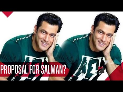 Salman Khan Gets A CUTE Marriage Proposal!