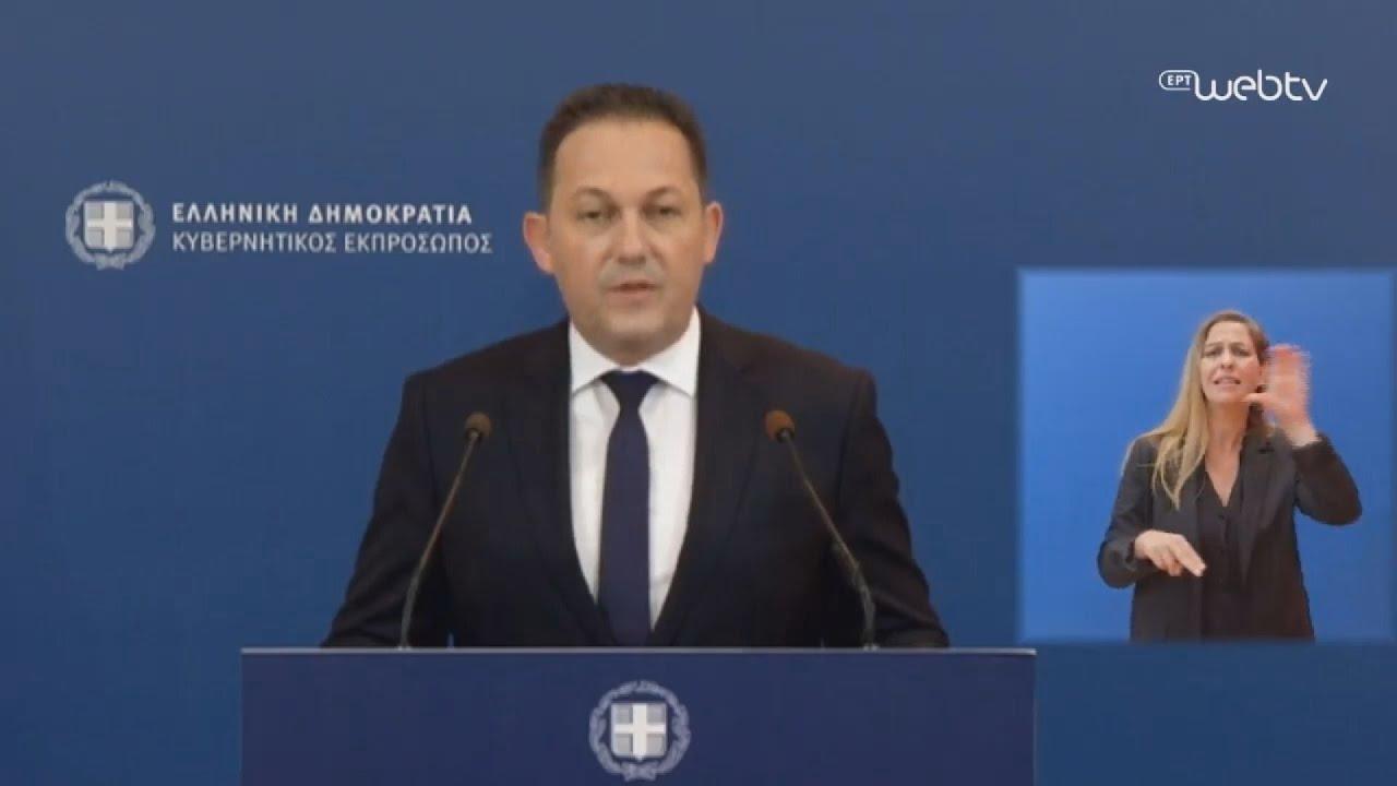 Στ. Πέτσας: Την Δευτέρα η συζήτηση στη Βουλή για την κύρωση συμφωνιών ΑΟΖ με Αίγυπτο και Ιταλία