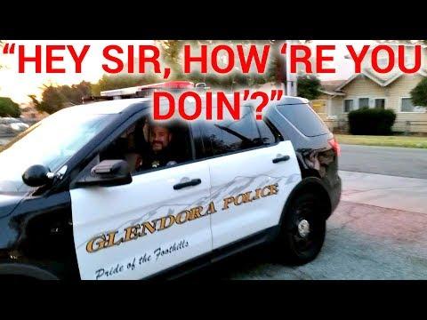 GLENDORA POST OFFICE - POLICE (PART 2) WITH DATMAN (видео)