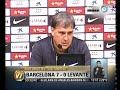 Visión 7: Barcelona goleó a Levante