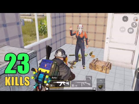 TEAMING UP WITH AN ENEMY (fan) | 23 KILLS SOLO VS SQUAD | PUBG MOBILE