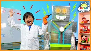 Video Let's Build A Robot Kids Song | Body Parts Exercise and Dance for Children | Ryan ToysReview MP3, 3GP, MP4, WEBM, AVI, FLV Agustus 2018