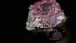 A Superb Purplish Pink Diamond Ring