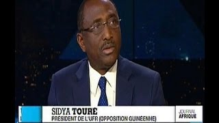 Sidya Touré sur France 24