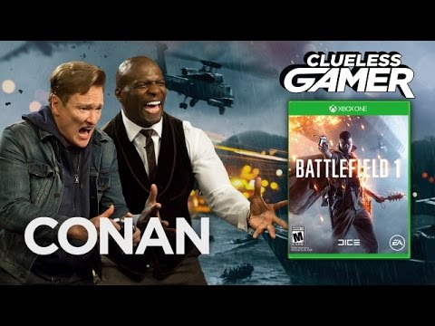 Clueless Gamer: Battlefield 1 With Terry Crews - CONAN on TBS