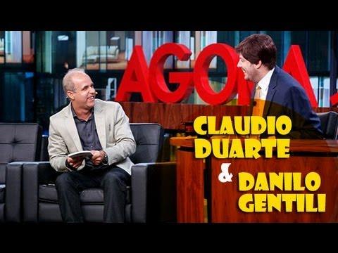 Claudio Duarte - Entreviste de Claudio Duarte no programa Agora é Tarde com Danilo Gentili na Band. 13/08/2013 INSCREVA-SE : http://goo.gl/VMkzBD REDES SOCIAIS : FACEBOOK : h...