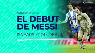 Video Messi - 15 years from his debut in FC Barcelona MP3, 3GP, MP4, WEBM, AVI, FLV November 2018