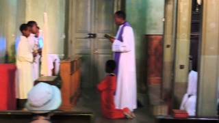 Ethiopia - Harrar - Catholic Church Service During The Week Before Palm Sunday
