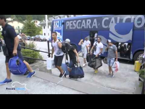 Pescara calcio: Primo giorno di ritiro