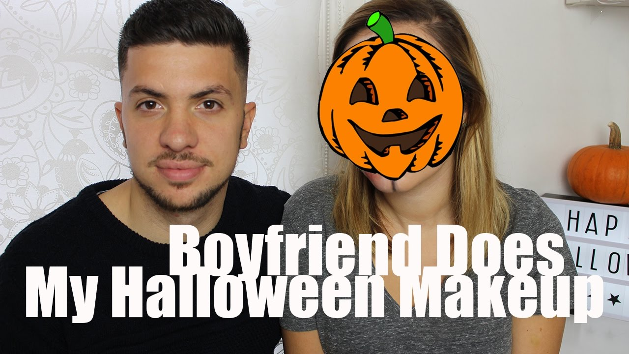My Boyfriend Does My Halloween Makeup | A Little Obsessed