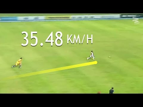Best 30 Fastest Sprint Speeds In Football
