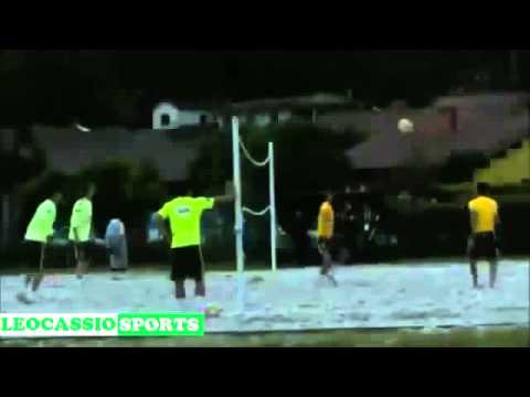 Fantastic Bicycle Neymar, Kick on Training selection Brazil 2014   30 05 2014