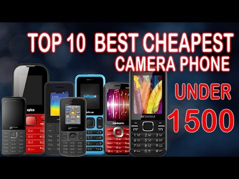 Top 10 Best Cheapest Camera Phone  Under 1500