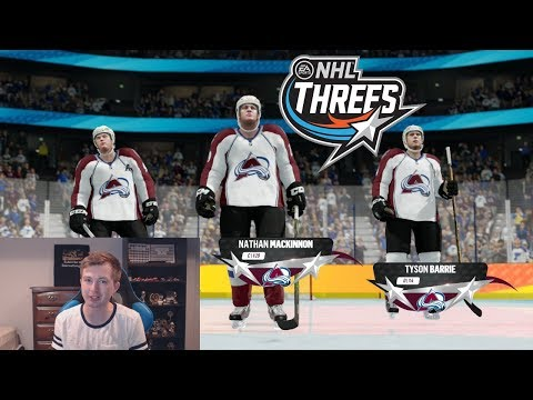 NHL 18 THREES - CAN WE WIN WITHOUT SHOOTING?