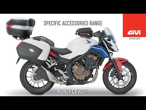 Specific accessories range for HONDA CB500F 2016