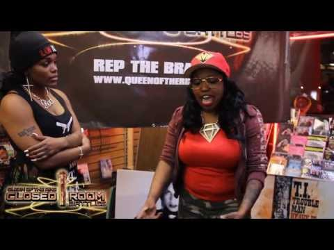 "BABS BUNNY & VAGUE presents QOTR ""CLOSED ROOM BATTLE"" MS TASH vs LADY E"