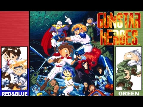 Обзор Gunstar Heroes (SMD)