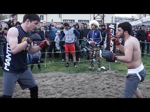 Профик ММА против Горного Борца (видео)