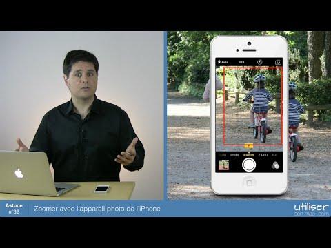 comment zoomer pour prendre une photo avec l'iphone