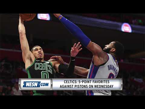 Video: Pistons Vs. Celtics Preview: C's Try To Build Momentum