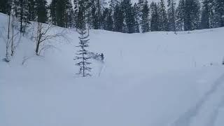 "7. DEEP SNOW Polaris Axys 155"""