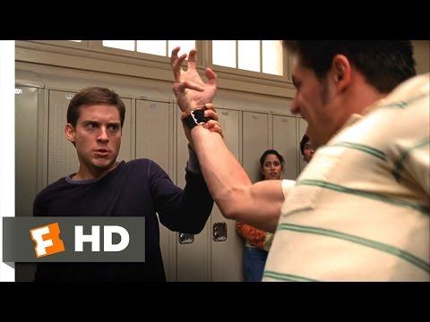 Spider-Man Movie (2002) - Peter vs. Flash Scene (1/10) | Movieclips
