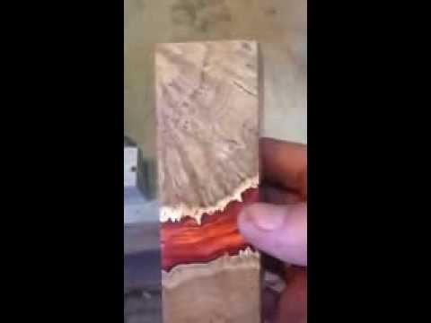 тест бруска sapphire wood 2