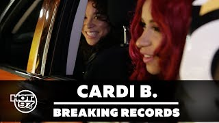 Megan Ryte had Cardi B on Breaking Records to try to break the record of 85 questions asked at a drive thru window.  CLICK HERE TO SUBSCRIBE: http://bit.ly/12lN6vbHOT97:  http://www.hot97.comINSTAGRAM: https://www.instagram.com/hot97FACEBOOK:  https://www.facebook.com/HOT97OFFICIALTWITTER:    https://twitter.com/HOT97