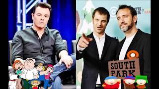 Video Seth MacFarlane on Matt Stone & Trey Parker MP3, 3GP, MP4, WEBM, AVI, FLV Maret 2018