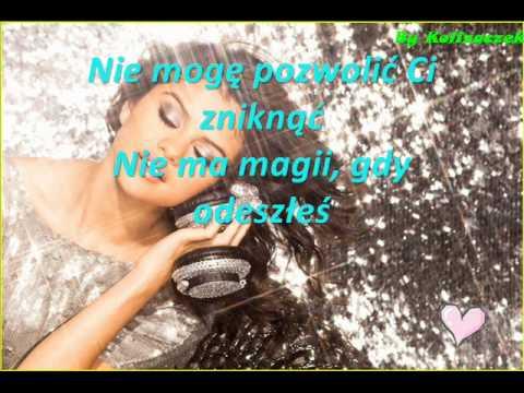 Tekst piosenki Selena Gomez - Disappear po polsku
