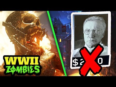 WW2 ZOMBIES REMOVES POINTS SYSTEM! – GOBBLEGUM, WONDER WEAPONS, ZOMBIE TYPES & MORE! (COD WW2) (видео)