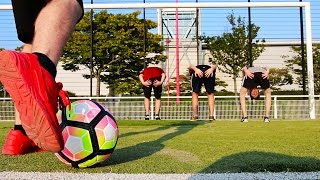 Video LES PIRES FOOTBALLEURS ! Crossbar Challenge MP3, 3GP, MP4, WEBM, AVI, FLV September 2017