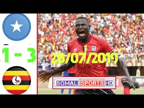 Somalia vs Uganda 1-3  Highlights & All Goals ● ● ●