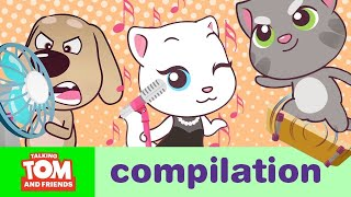 Video ACTION SUPERSTARS – Talking Tom and Friends Minis Cartoon Compilation (21 Minutes) MP3, 3GP, MP4, WEBM, AVI, FLV Mei 2019