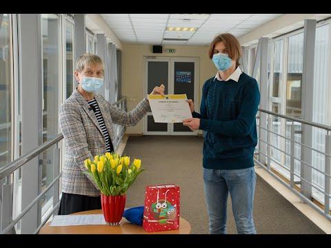 VJCĢ audzēkņi gūst panākumus Eiropas Komisijas rīkotajā vidusskolēnu tulkošanas konkursā