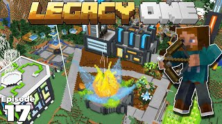 Legacy SMP : EPIC BASE PROGRESS & The Hunting Lodge : Minecraft 1.15 Survival Multiplayer