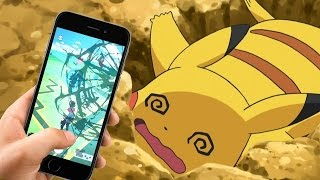 Guess Who Fell Off a Pier Playing Pokémon GO - Up At Noon Live! by IGN