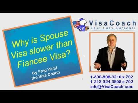 Why is Spouse Visa slower than Fiancee Visa CR1 FAQ #10