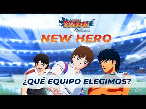 ELEGÍ EN QUE EQUIPO JUGARA MI HERO!!! - Captain Tsubasa: Rise of New Champions