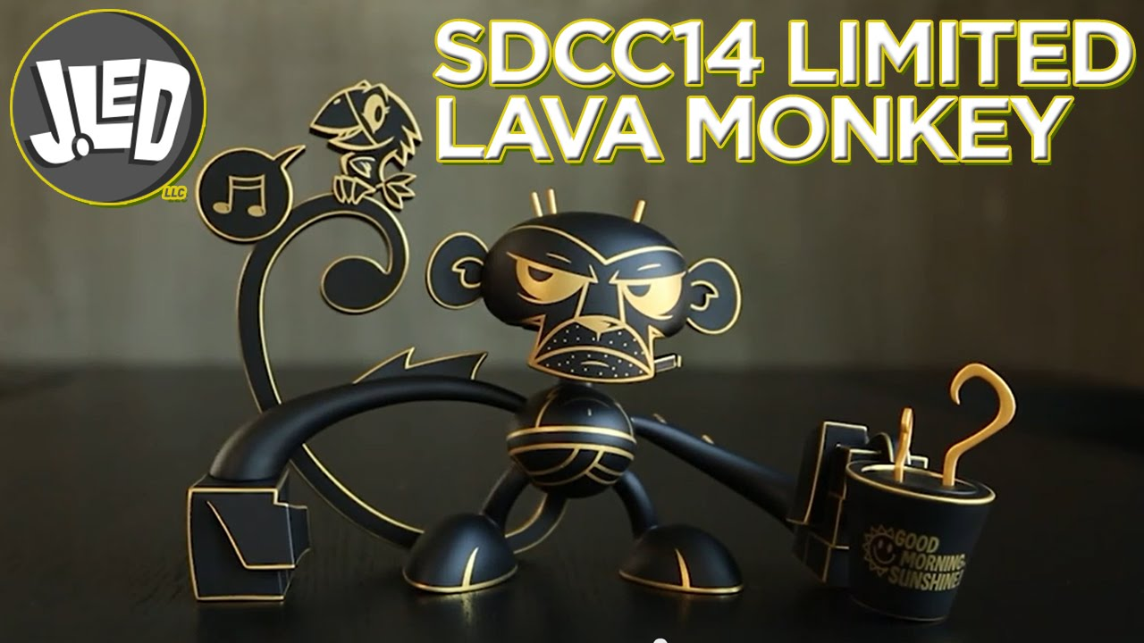 JLed 2014 SDCC Exclusive Lava Monkey!