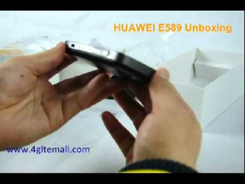 HUAWEI E589 Unboxing -- Fantastic 4G Mobile WiFi Hotspot