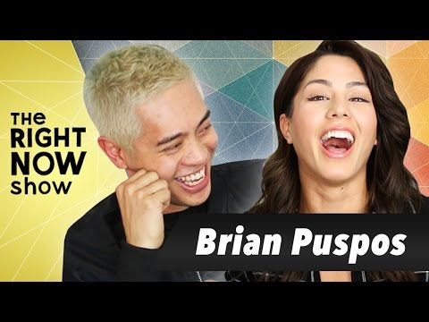 Brian Puspos Debuts New EP | The Right Now Show | MeganBatoon