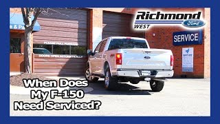 Ford F-150 Maintenance Schedule: When To Bring In Your Truck