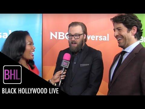 Joshua Leonard & Don Hany - 'Heartbeat' | NBC Universal Press Tour 2016 | Black Hollywood Live