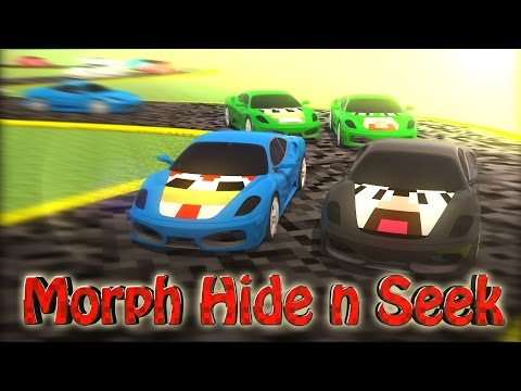 hide - Minecraft Morph Hide and Seek Challenge gets a brand new Challenge and that is the Morph Hide and Seek Ferrari Challenge! This Morph Hide and Seek Challenge has the Ferrari's Mod texture! ...
