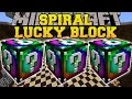 Minecraft: SPIRAL LUCKY BLOCK MOD (BLOCKS OF MADNESS & INSANITY!!!) Mod Showcase