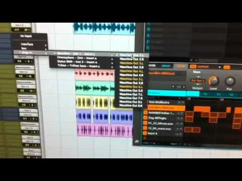 Maschine audio export to pro tools