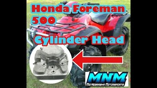 3. Video 1/4 Honda Rubicon Foreman TRX 500 4x4 Engine Motor Tear Down Split Case Transmission Head