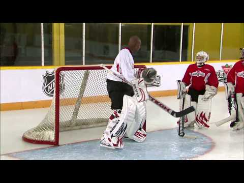 Hockey Skills: Goaltending Skating